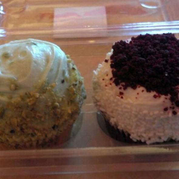 Red Velvet Cupcakes @ Crumbs Bake Shop