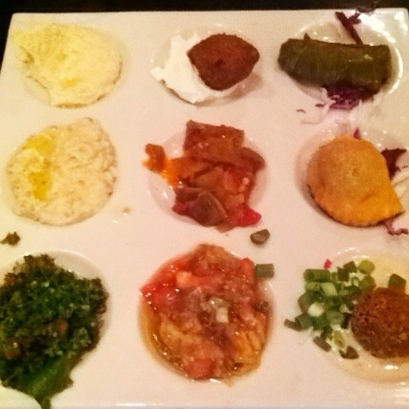 Traditional Mezza - Lebanese Taverna - Tysons Galleria, McLean, VA