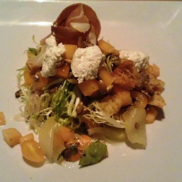 Summer Panzanella Salad - The Ravenous Pig: An American Gastropub, Winter Park, FL