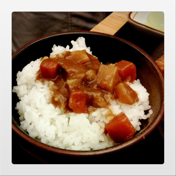 curry rice @ Tonkichi (Shaw House)