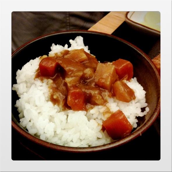 curry rice @ Tonkichi (Shaw House)
