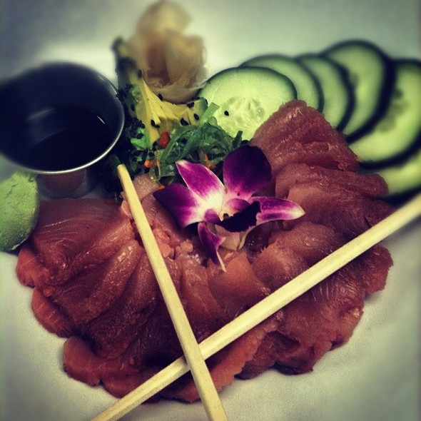Local Albacore Sashimi @ The Oceanaire Seafood Room