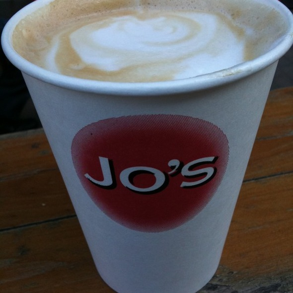 Vanilla Latte @ Jo's Hot Coffee Good Food