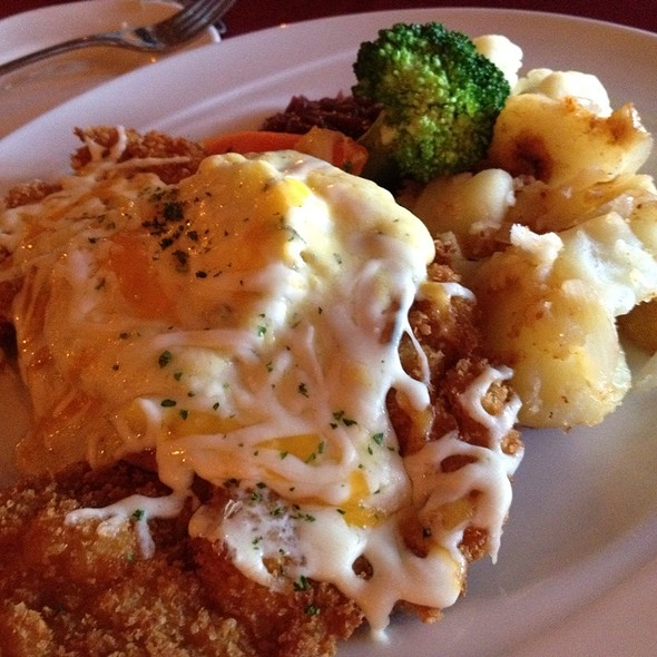 Hawaii Schnitzel - The Black Forest Restaurant, Harrison Hot Springs, BC