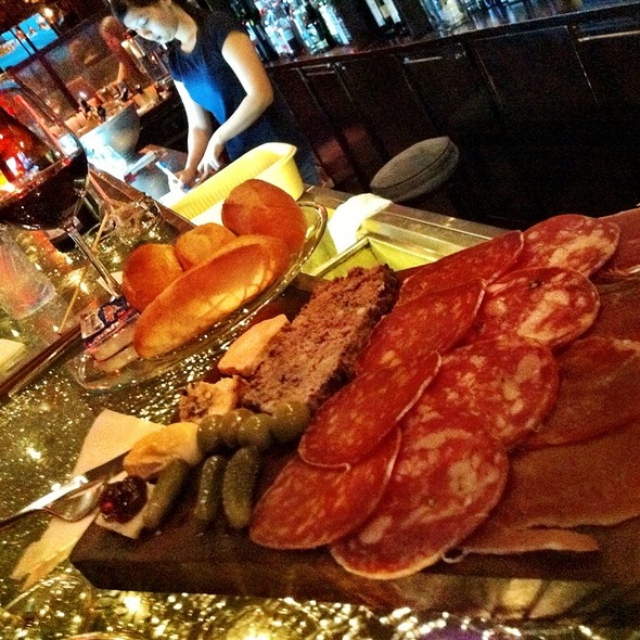 Charcuterie & Cheese Platter @ Qing Bar