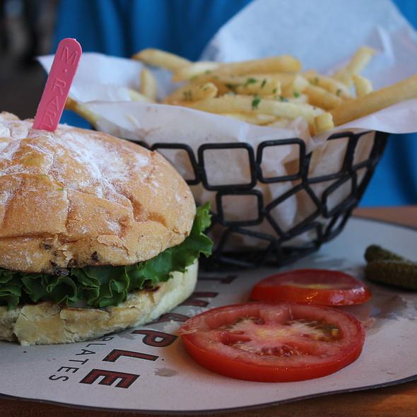 Cheeseburger & Truffle Fries - Great Maple - Fashion Island, Newport Beach, CA