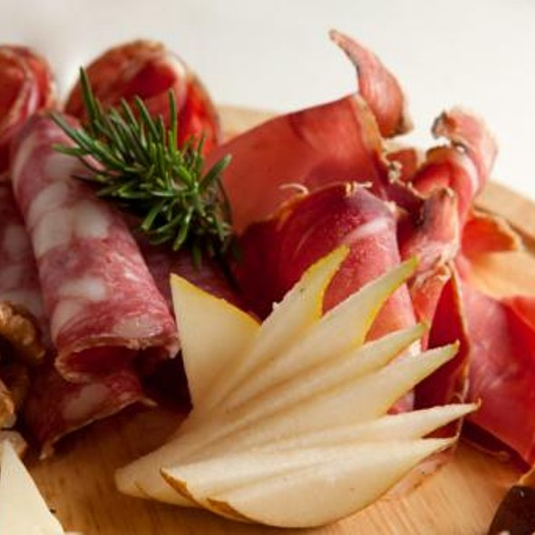 Assorted Cold Cuts @ Ristorante la Chiostrina