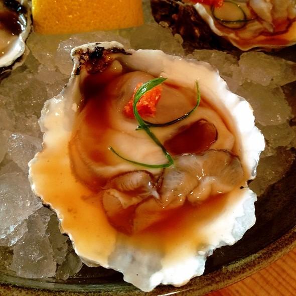 Kumamoto oysters @ Pabu Restaurant