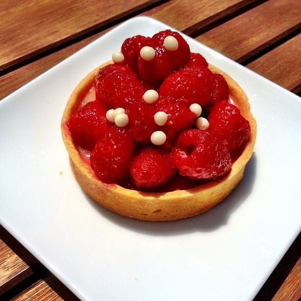 Raspberry Tart @ Lamill Coffee Boutique