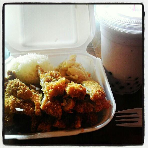 Chicken Katsu Mini Plate @ 88 Rice Bowl