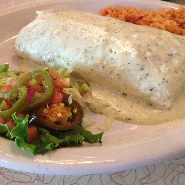 Burrito As Big As Your Face! @ Chuy's Restaurant