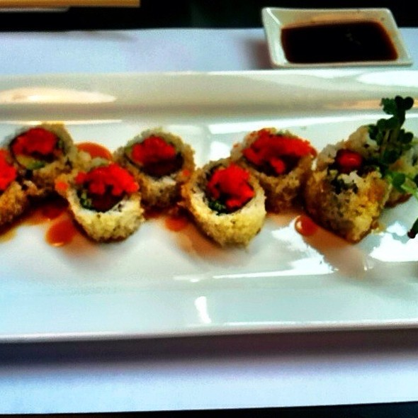Spicy Tuna Rolls @ Blue Fish Sushi Bar The