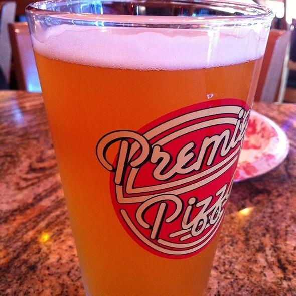Shock Top Beer @ Premier Pizza