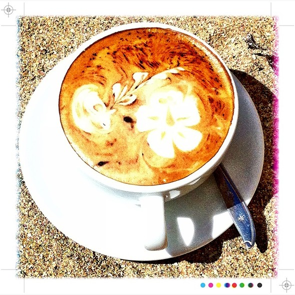 Cappuccino @ Rosetta Cafe