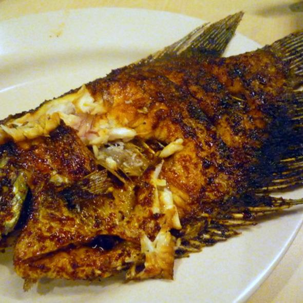 Gurame Bakar @ Ikan Nila Pak Ono