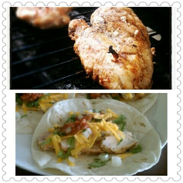 Grilled Chicken Tacos @ Home