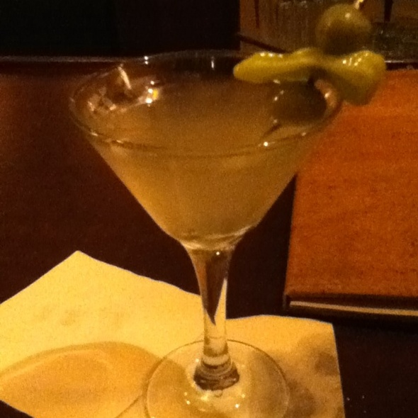 Hot & Dirty Martini @ Two Ceres St