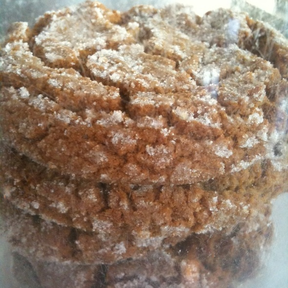 Ginger Molasses Cookies @ The American Grilled Cheese Kitchen