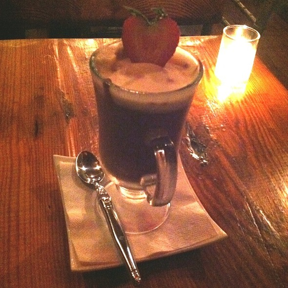 Complimentary White And Dark Chocolate Mousse - Gentleman Farmer, New York, NY