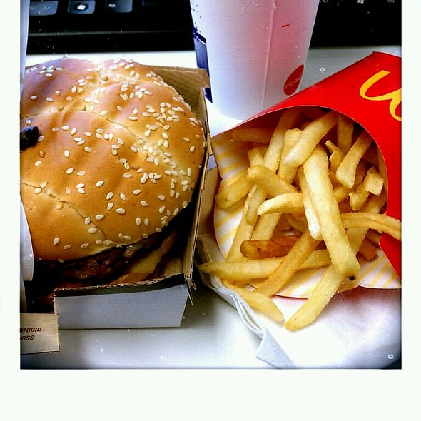 Angus Mushroom & Swiss @ McDonald's