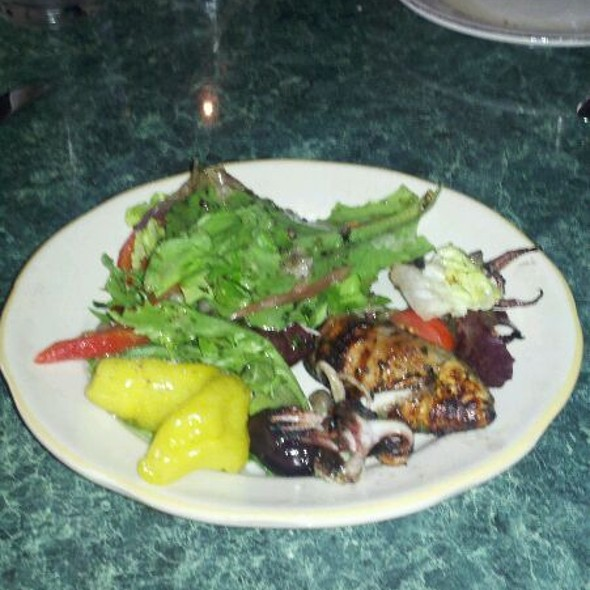 Grilled Calamari Salad - Ciao Bella - Baltimore, Baltimore, MD
