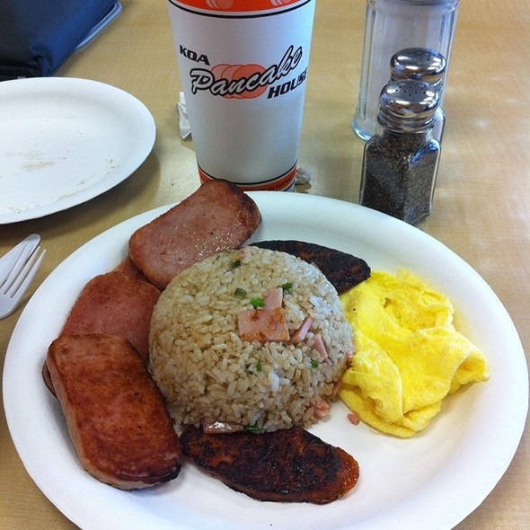 Fried Rice One Egg With Portuguese Sausage