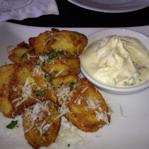 Fried Artichoke Hearts With Garlic Aioli - Vivace, Raleigh, NC