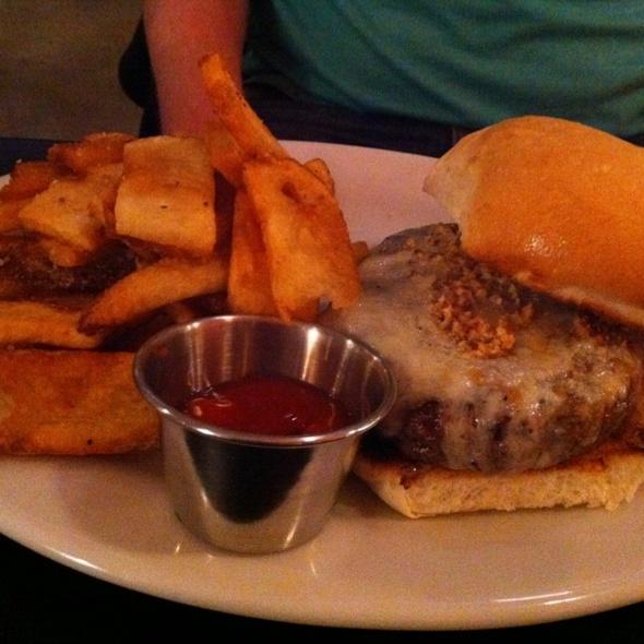 Cheeseburger @ Black Star Co-op Pub & Brewery