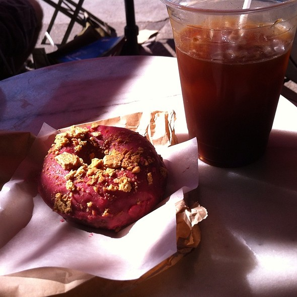 The Raspberry Royal @ Paulette's Original Donuts And Chicken