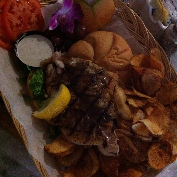 Mesquite-Grilled Grouper Sandwich @ Gramma Dot's Restaurant