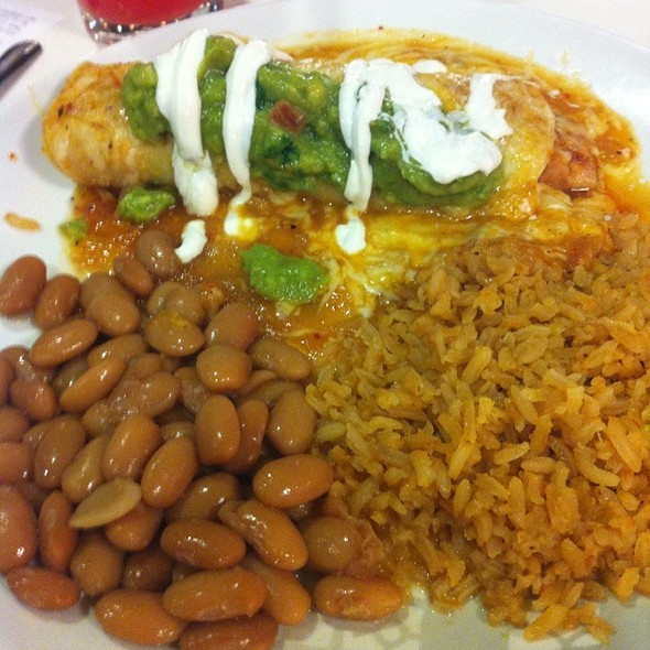 Chicken Enchilada @ Andale