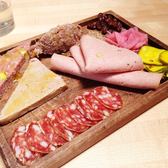 Charcuterie plate - Olympia Provisions Southeast, Portland, OR