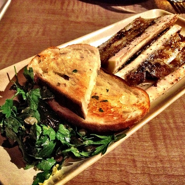 Roasted Bone Marrow @ KORAL Bar & Kitchen