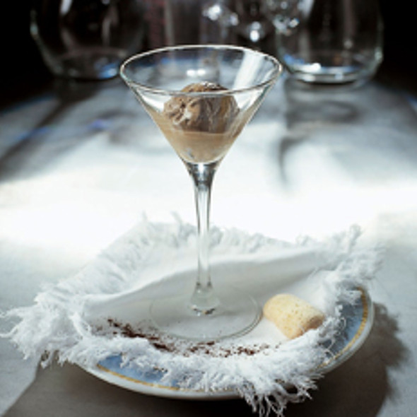 Liquid Nitrogen Ice Cream! @ Grand Hotel Villa Serbelloni