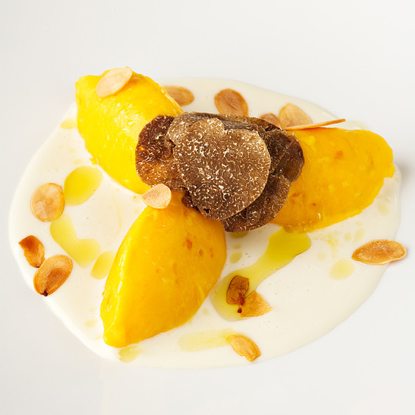 Gnocchi With Pumpkin @ Grand Hotel Villa Serbelloni