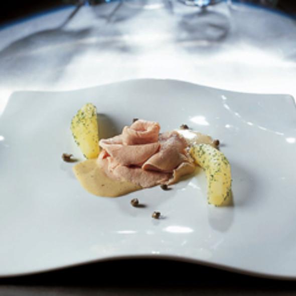 Veal In Tuna Sauce With Capers @ Grand Hotel Villa Serbelloni