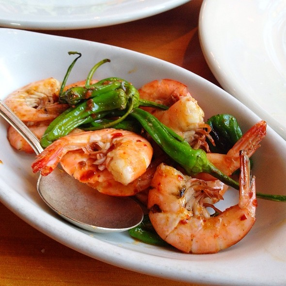 Shrimp And Padrons, Chilies - Ned Ludd, Portland, OR