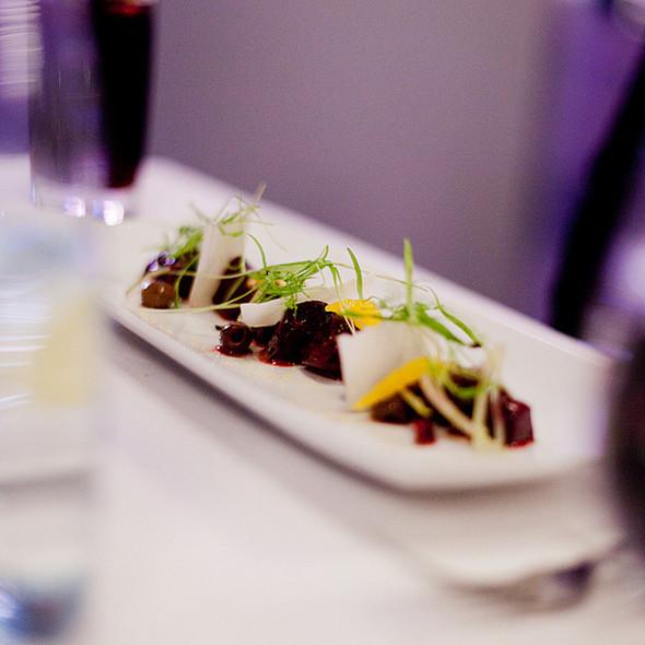 Roasted Beetroot Salad - Aria Ristorante, Toronto, ON