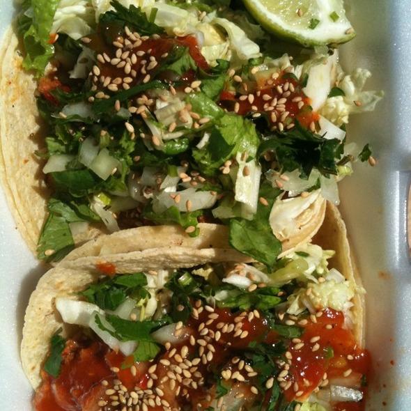 Spicy Pork Taco @ Chilantro Korean BBQ