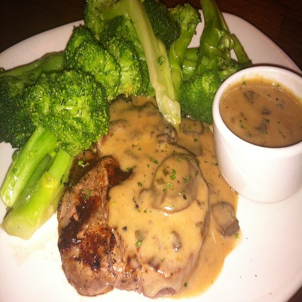 Filet Mignon Mushroom Marsala @ Outback Steakhouse