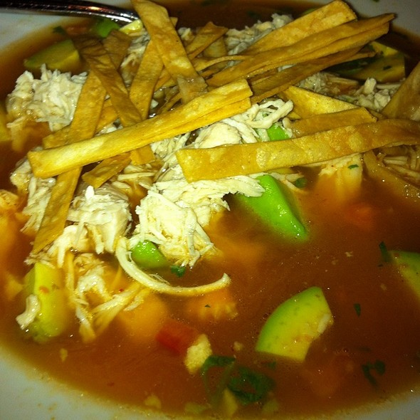 Chicken Tortilla Soup @ hola!