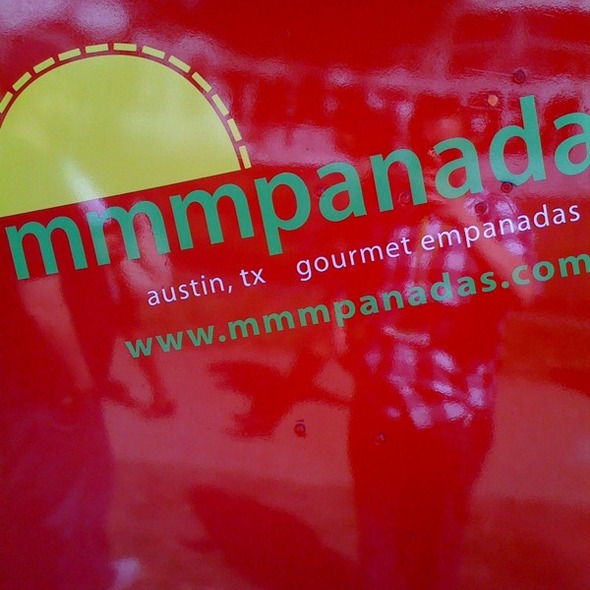 Green Chile Chicken Empanada @ Mmmpanadas
