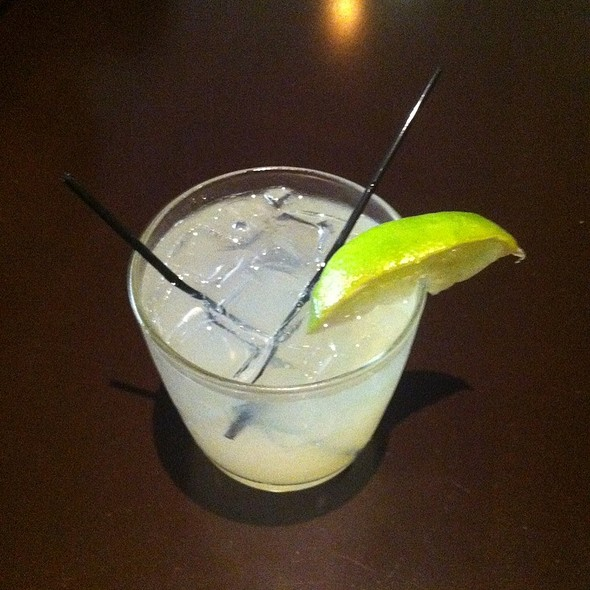 Lime Ginger Cocktail @ chotto