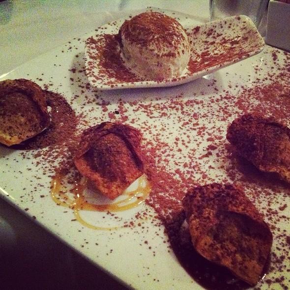 chocolate ravioli @ Chocolate Cafe The
