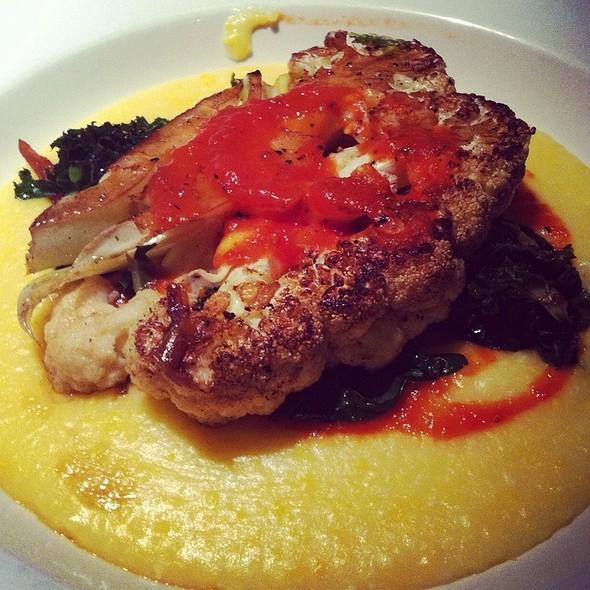 Cauliflower Steak @ Restaurant 415