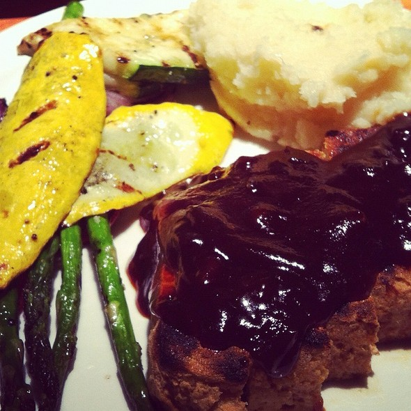 Grilled Organic Tofu @ Restaurant 415