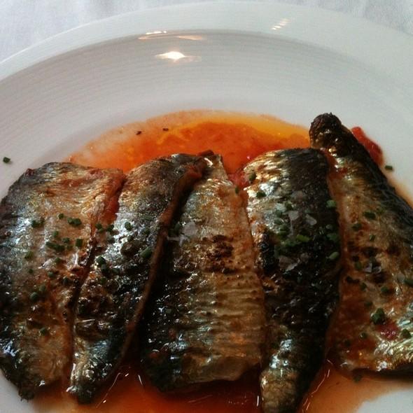Sardinas @ Ca La Nuri Eixample Restaurant