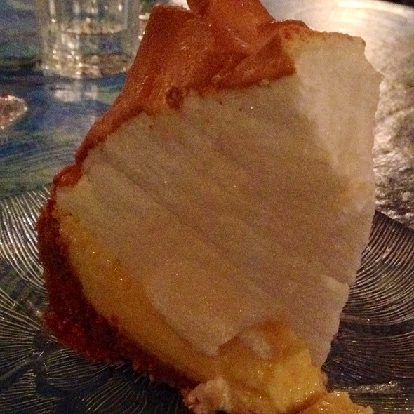 Key Lime Pie @ Salute! On The Beach