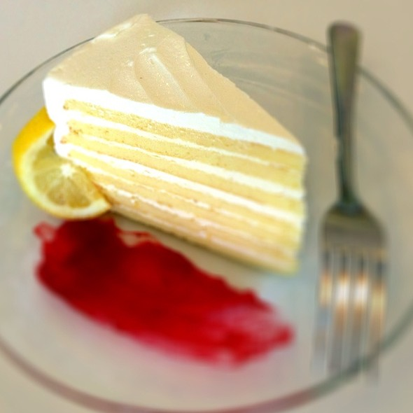 7-Layer Lemon Cake @ Caroline's Cakes