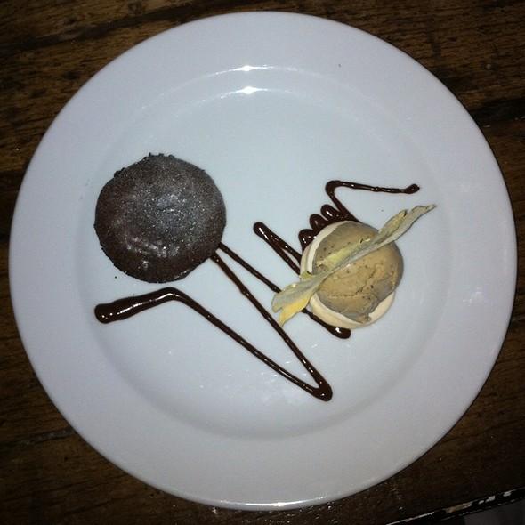 chocolate fondant @ Lena Restaurant